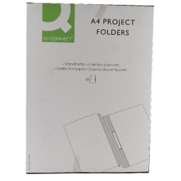 Q-Connect Project Folder Blue [Pack of 25]