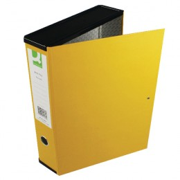 Q-Connect Box File Yellow [Pack of 5]