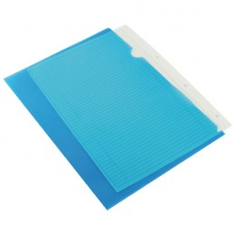 Q-Connect Cut Flush Folder Blue [Pack of 100]