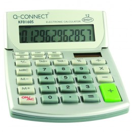 Q-Connect Semi Desktop Calculator 12 Digit