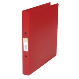 Q-Connect 2-Ring Binder A4 Polypropylene Red [Pack of 10]