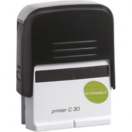 Q-Connect Voucher for Self Inking Stamp 55x20mm