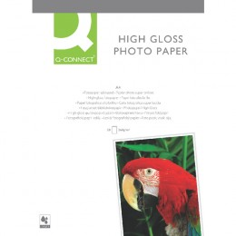 Q-Connect High-Gloss Photo Paper A4 [20 Sheets]