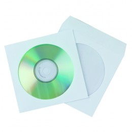 Q-Connect CD Envelope Paper [Pack of 50]