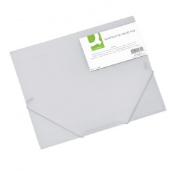 Q-Connect Elasticated Folio Clear