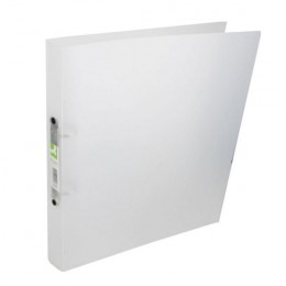 Q-Connect Ring Binder Frosted Clear