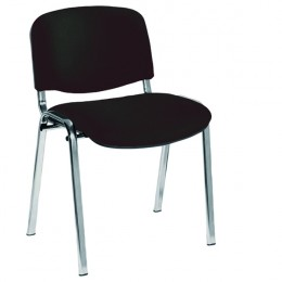 Jemini Ultra Chrome Multi-Purpose Stacking Chair Charcoal