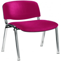 Jemini Ultra Chrome Multi-Purpose Stacking Chair Claret