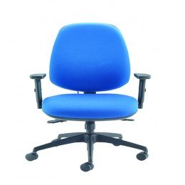 Cappela Rise High Back Posture Chair Blue