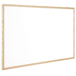 Q-Connect Whiteboard Wood Frame 60x40cm