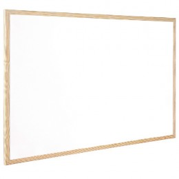 Q-Connect Whiteboard Wood Frame 90x60cm