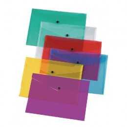 Q-Connect Document Folder Polypropylene A4 Assorted [Pack of 12]