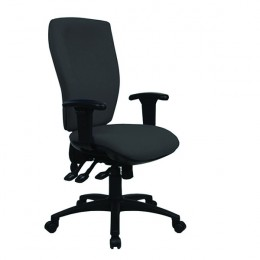 Cappela Energy High Back Posture Chair Black