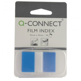 Q-Connect Page Marker 1 Inch Blue [Pack of 50]