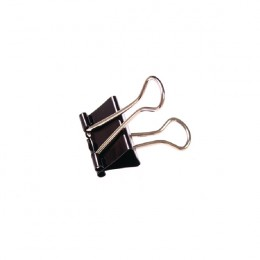 Q-Connect Foldback Clips 16mm Black [Pack of 10]