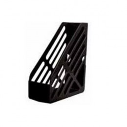 Q-Connect Magazine Rack Black