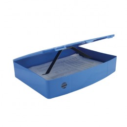 Q-Connect Box File Polypropylene Blue