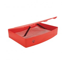 Q-Connect Box File Polypropylene Red