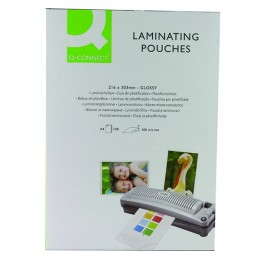 Q-Connect Laminating Pouches A4 100mic [Pack of 100]