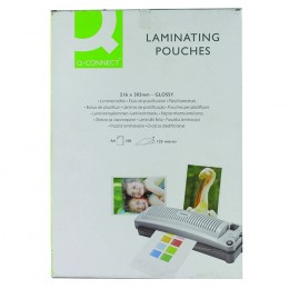 Q-Connect Laminating Pouches A4 125mic [Pack of 100]