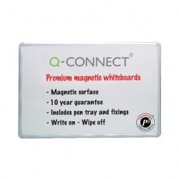 Q-Connect Premium Magnetic Drywipe Board 900x600mm
