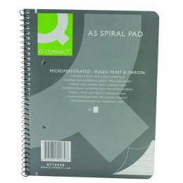 Q-Connect Executive Spiral Pad A5 [Pack of 5]