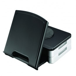 Q-Connect Monitor Stand and Copyholder Black