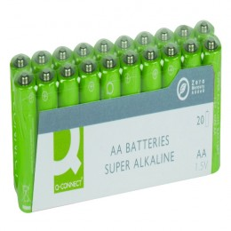 Q-Connect AA Batteries [Pack of 20]