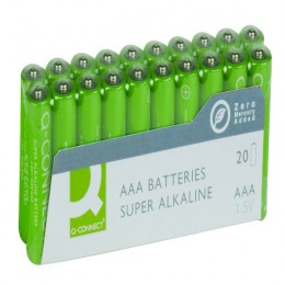 Q-Connect AAA Batteries [Pack of 20]