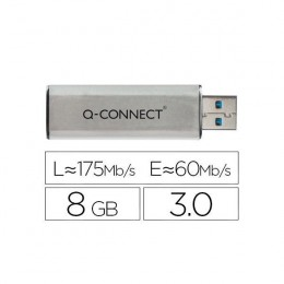 Q-Connect Slider USB 3.0 Flash Drive 8Gb
