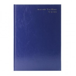 Condiary A5 Academic Diary Day per Page 2019-2020 Blue