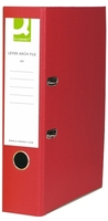 Q-Connect Lever Arch File Foolscap Red [Pack of 10]