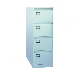 Jemini Filing Cabinet 4 Drawer Grey