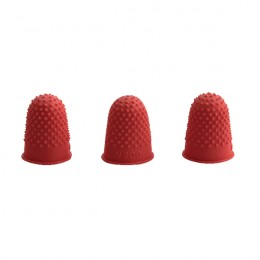 Q-Connect Thimblettes Size 00 Red [Pack of 12]