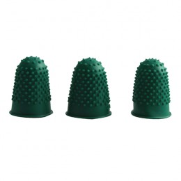 Q-Connect Thimblettes Size 0 Green [Pack of 12]