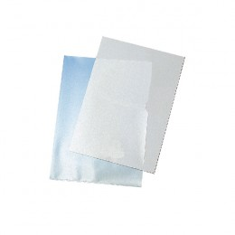 Q-Connect Cut Flush Folder Clear [Pack of 100]