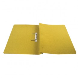 Q-Connect Transfer File Foolscap Yellow [Pack of 25]