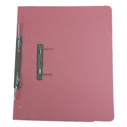 Q-Connect Transfer File Foolscap Pink [Pack of 25]