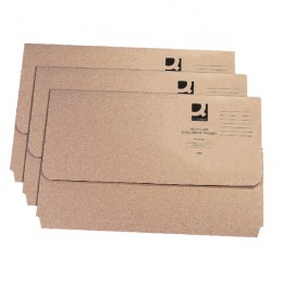 Q-Connect Document Wallet Recycled [Pack of 50]