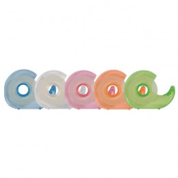 Q-Connect Handheld Tape Dispenser with 19x33m Tape [Pack of 10]