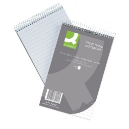 Q-Connect Shorthand Notebook 150 Leaf [Pack of 10]