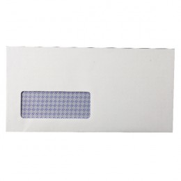 Q-Connect DL Envelopes Self Seal 80g White Window [Pack of 1000]