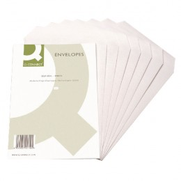Q-Connect C5 Envelopes Self Seal 90g White [Pack of 500]