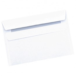 Q-Connect Envelopes Self Seal C6 90g White [Pack of 1000]
