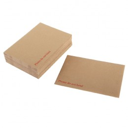 Q-Connect Board Backed Envelopes Peel and Seal 318x267mm Manilla [Pack of 125]