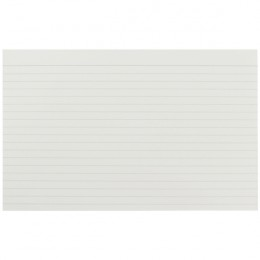 Q-Connect Record Card 8x5 Inches Feint Ruled White [Pack of 100]