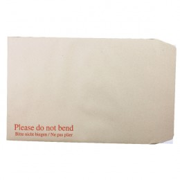 Q-Connect Board Backed Envelopes Peel C4 115g Man [Pack of 125]