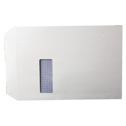 White Window C4 Envelopes