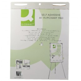 Q-Connect Self Adhesive Flipchart Pad 30 Sheet [Pack of 2]