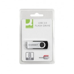 Q-Connect 8Gb USB Flash Drive White
